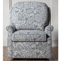 Hallagan Furniture Accent Chairs Customizable Swivel Glider Accent Chair - Item Number: 614SGR 5077