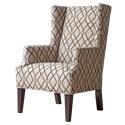 Hallagan Furniture Accent Chairs Customizable Wing Back Accent Chair - Item Number: W1026924