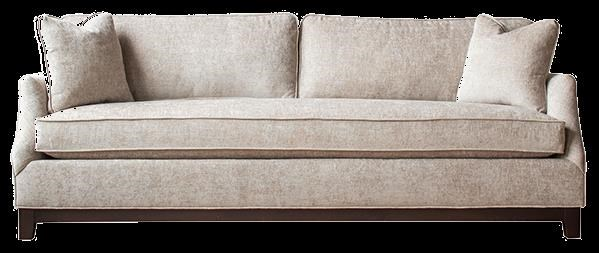 Brighton Customizable Bench Seat Sofa at Bennett's Furniture and Mattresses