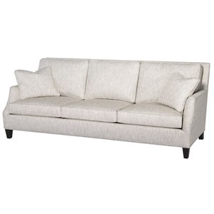 Hallagan Furniture Mansfield Customizable Contemporary Sofa