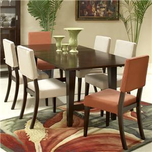 Hamilton Spill Parvana 7 Piece Table Side Chair Set