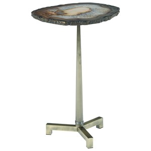 Hammary Agate Accent Table