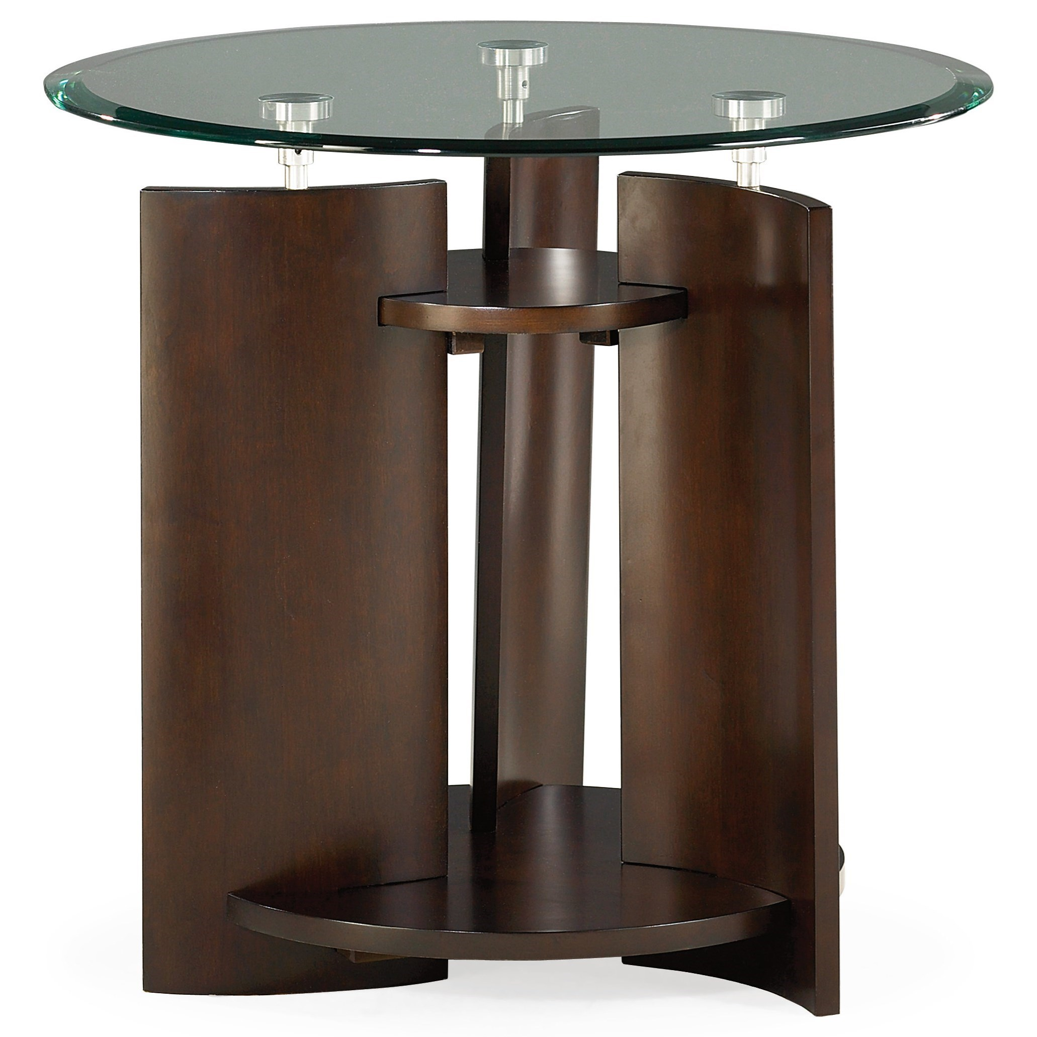 Hammary Apex Round End Table  - Item Number: 105-916