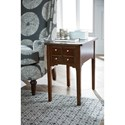 Hammary Arcadia Chairside Table with Drawer