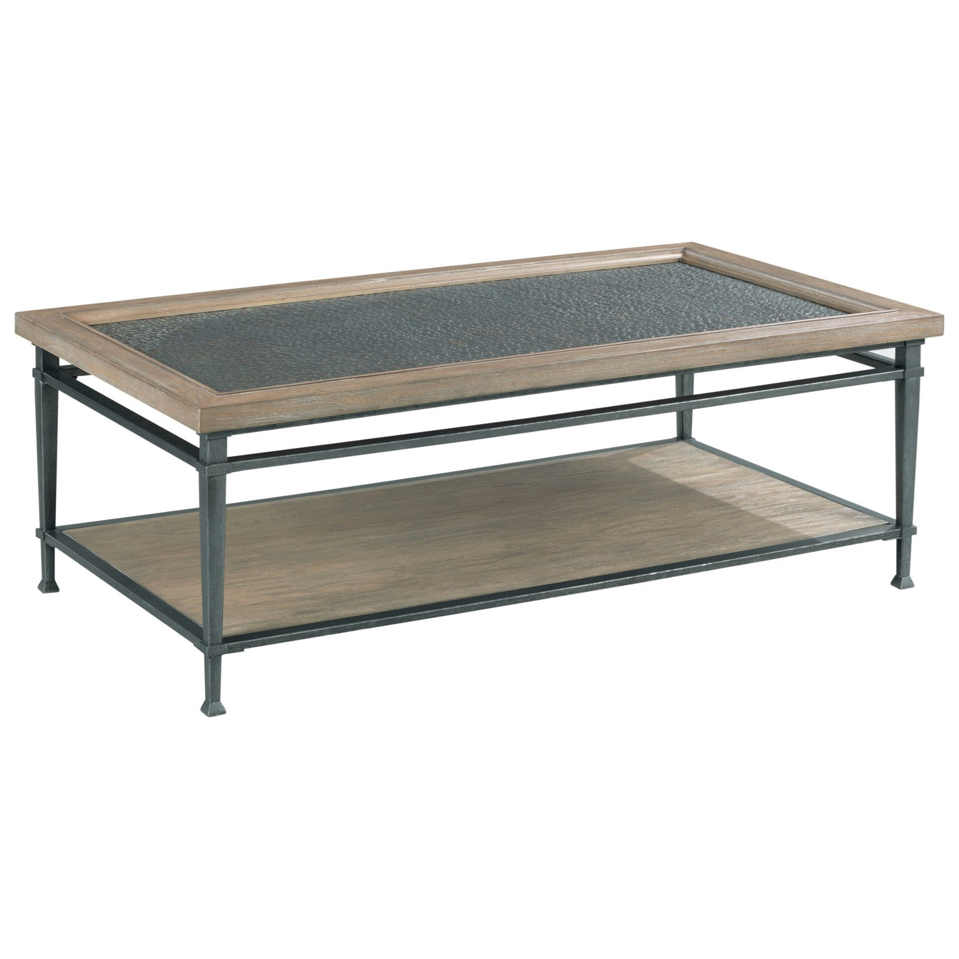 Austin Rectangular Coffee Table by Hammary at Jordan's Home Furnishings