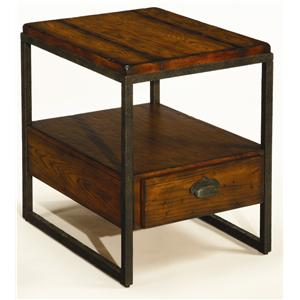 Hammary Baja Rectangular Drawer End Table