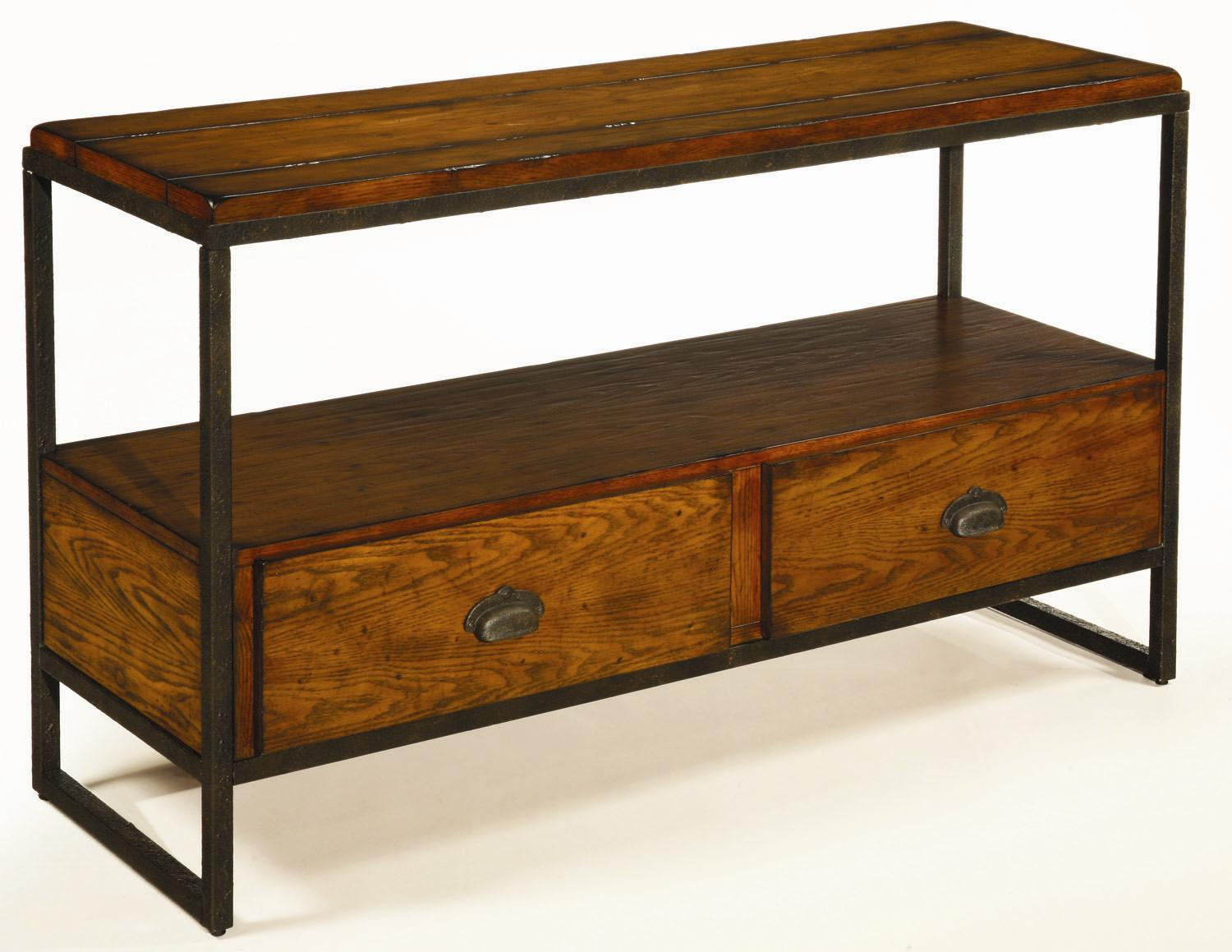 Baja Entertainment Console by Hammary at Stoney Creek Furniture