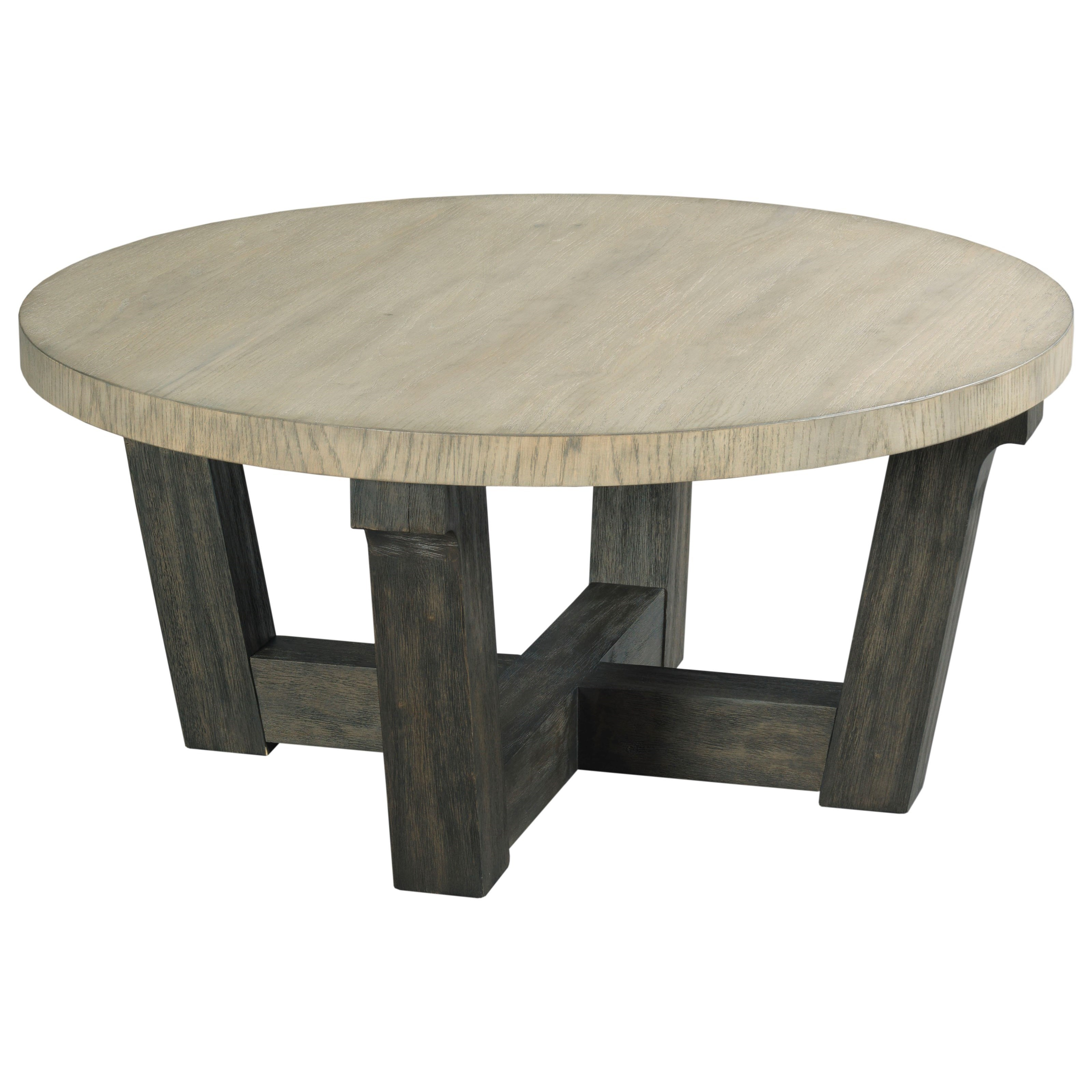 Hammary Beckham Round Cocktail Table - Item Number: 797-911