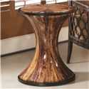 Morris Home Furnishings Boracay Banana Bark Round Accent - Item Number: 110-914