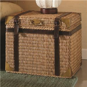 Morris Home Furnishings Boracay Square End Trunk