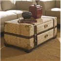 Hammary Boracay Tropical Voyage Cocktail Trunk with Storage - 110-912