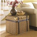 Morris Home Furnishings Boracay Tropical Voyage Trunk End Table