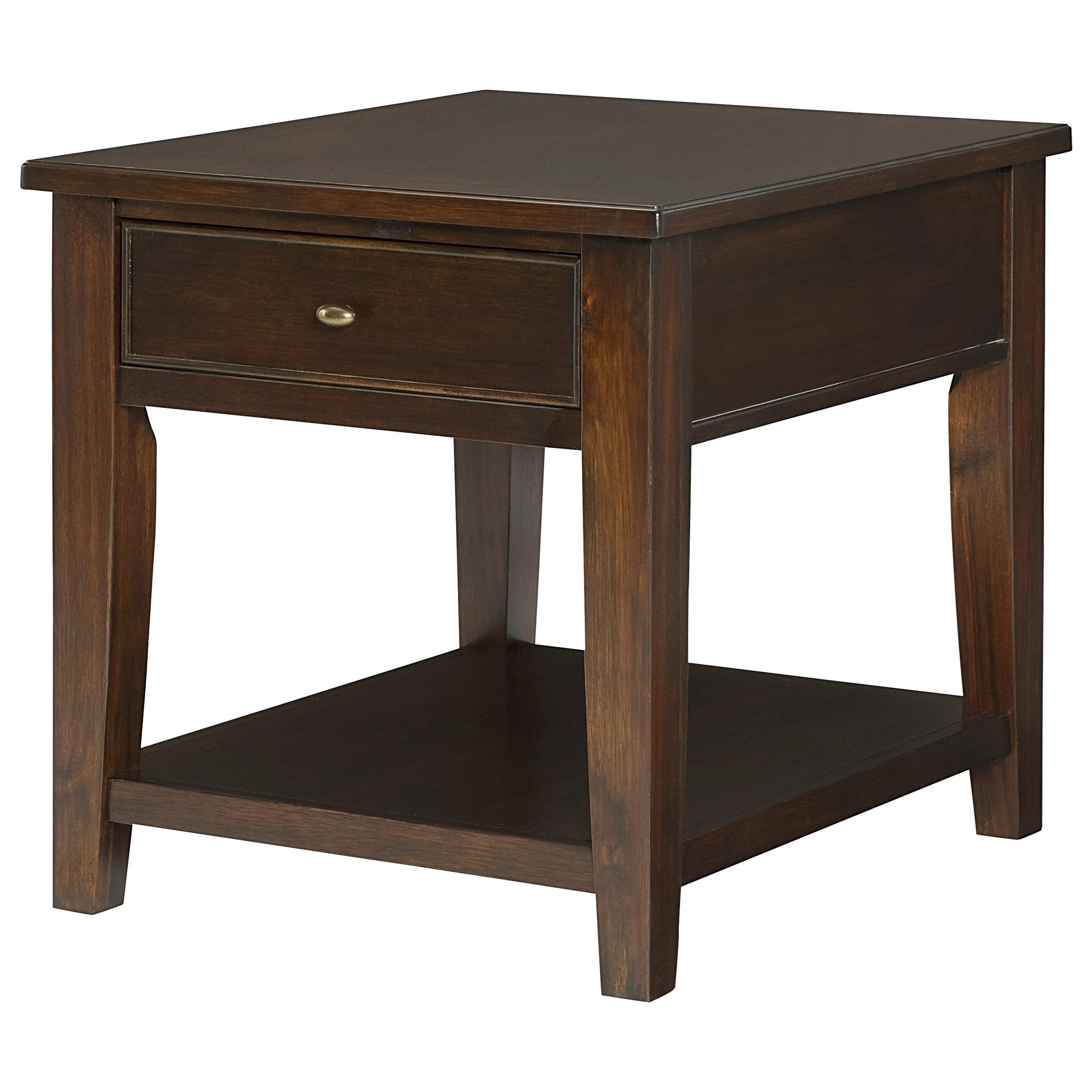 Hammary Boulevard Rectangular End Table - Item Number: 459-915