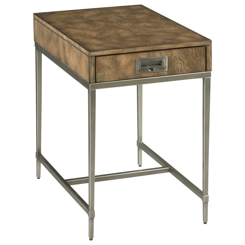 Carlton Chairside Table by Hammary at Jordan's Home Furnishings