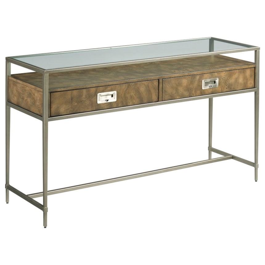 Carlton Sofa Table by Hammary at Jordan's Home Furnishings