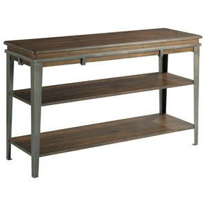 Composite Sofa Table with 2-Shelves by Hammary