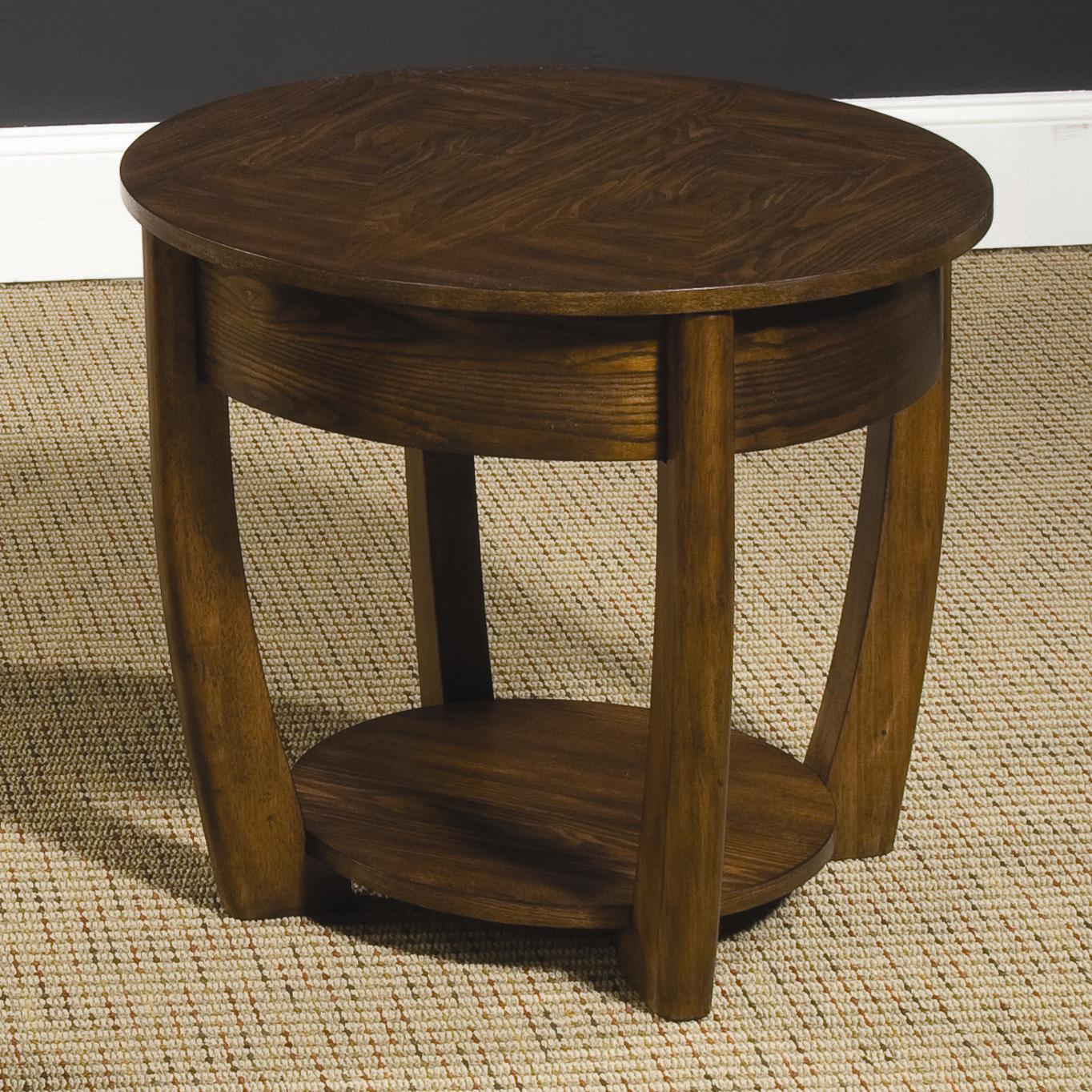 Hammary Concierge Round End Table - Item Number: T3001835-00
