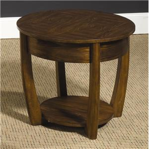 Morris Home Furnishings Concierge Round End Table