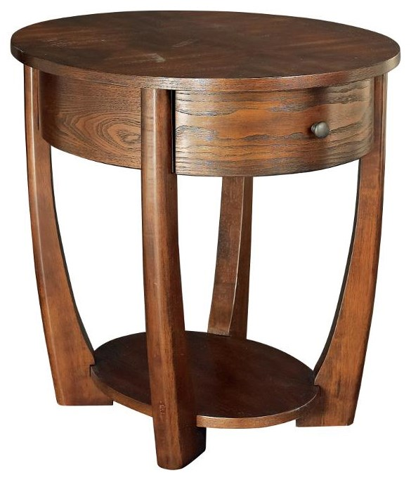 Hammary Concierge End Table - Item Number: T3001836-00