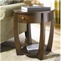 Morris Home Furnishings Concierge Oval End Table - Item Number: T3001836-00