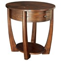 Hammary Concierge Oval End Table - Item Number: T3001836-00