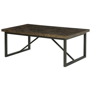 Hammary District Rectangular Cocktail Table
