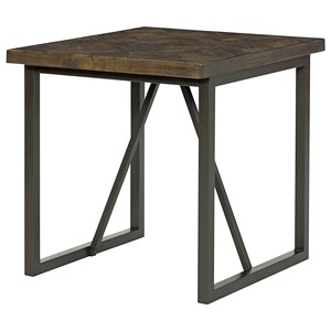 Hammary District Rectangular End Table