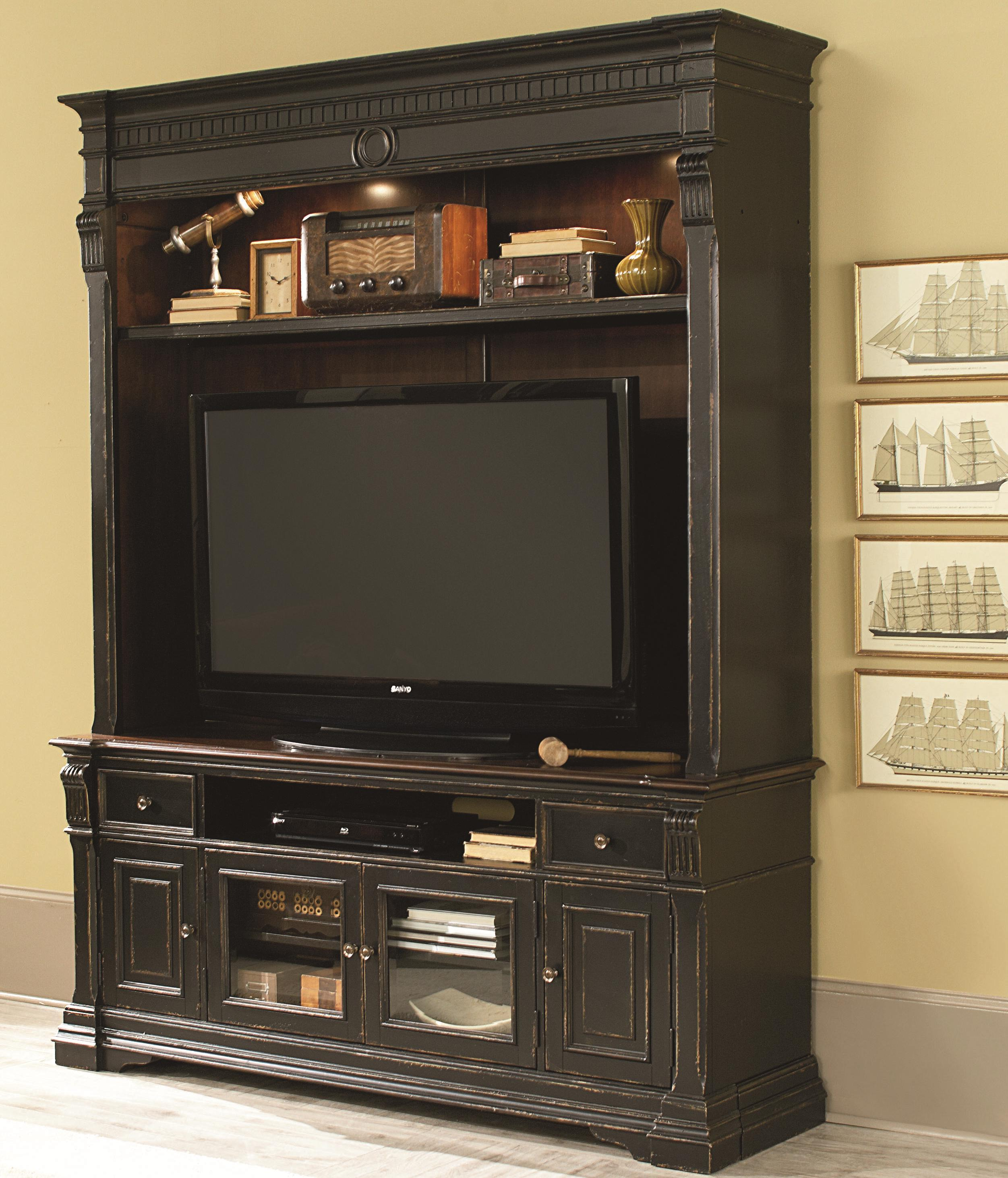 Hammary Dorset Entertainment Console with Hutch - Item Number: 347-585+7
