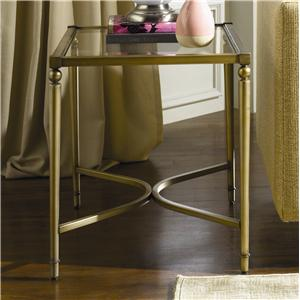 Hammary Elipse Rectangular End Table