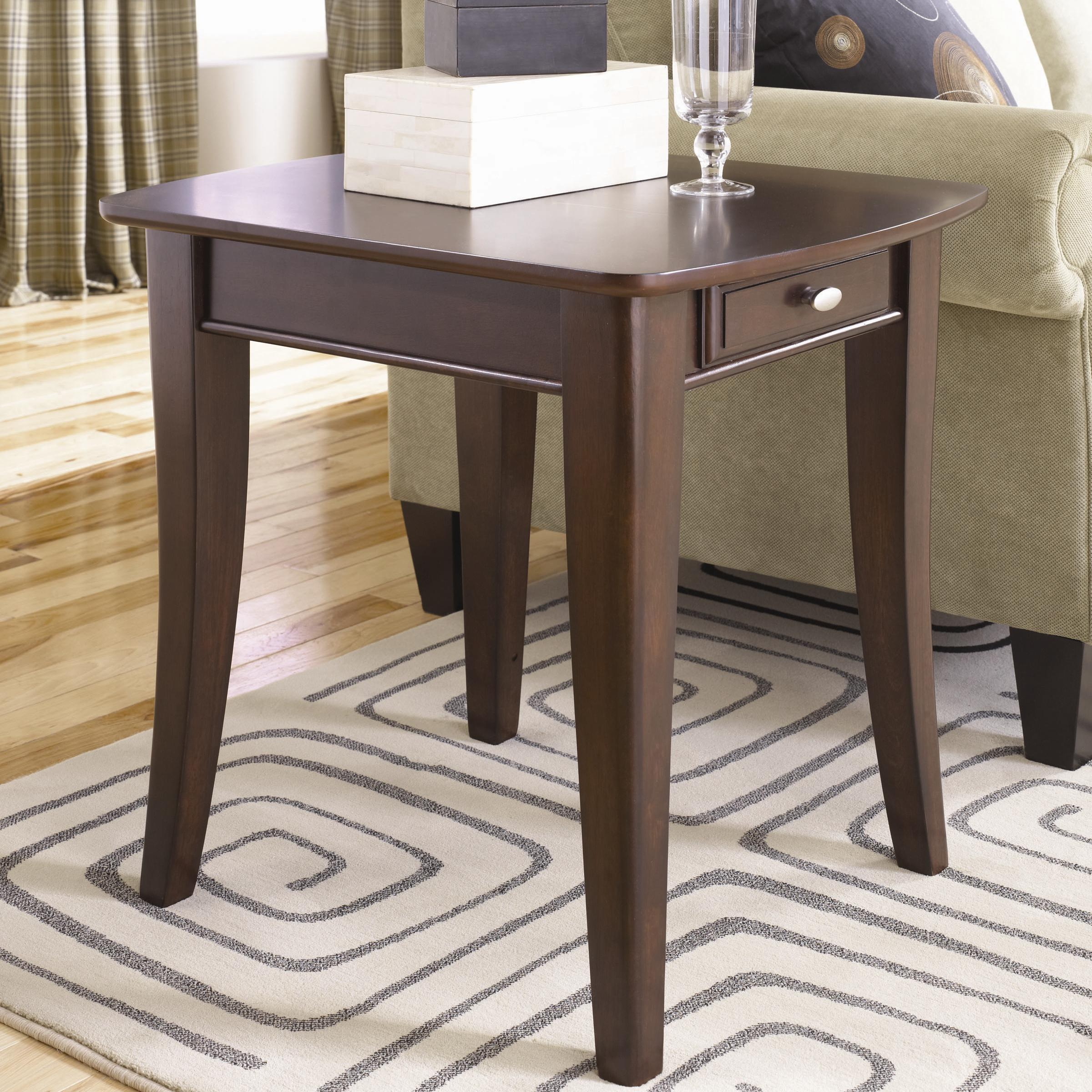 Hammary Enclave HAM Rectangular End Table - Item Number: T2079221-00