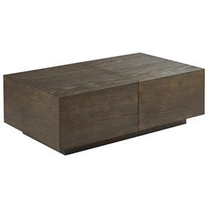Rectangular Storage Cocktail Table
