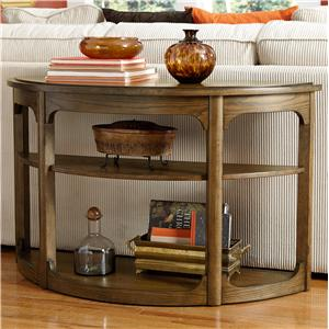 Hammary Facet Sofa Table
