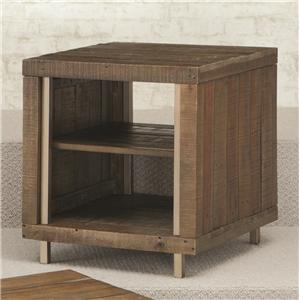 Hammary Flashback Rectangular End Table