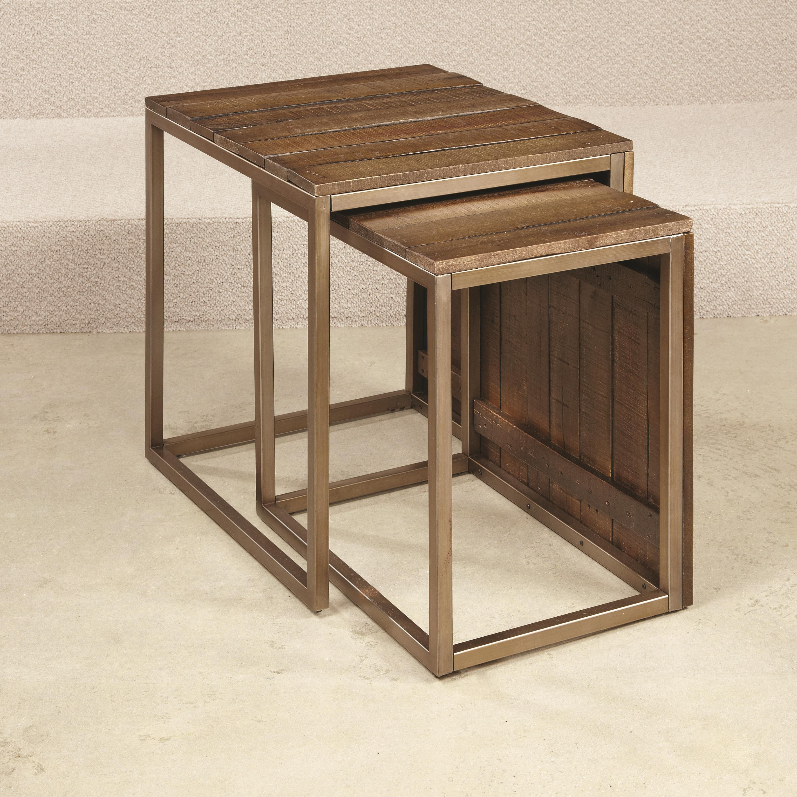 Hammary Flashback Nesting End Table - Item Number: 276-918