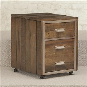 Hammary Flashback Mobile File Cabinet