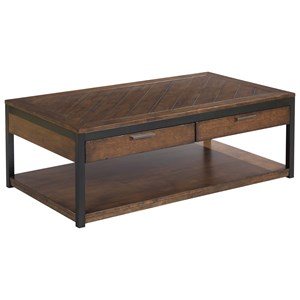 Hammary Franklin Rectangular Cocktail Table