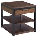 Hammary Franklin Rectangular Drawer End Table - Item Number: 529-915