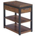 Hammary Franklin Charging Chairside Table - Item Number: 529-916