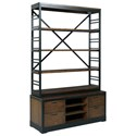 Hammary Franklin Wall Entertainment Unit - Item Number: 529-926+588