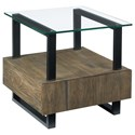 Hammary Fusion Square End Table - Item Number: 594-915