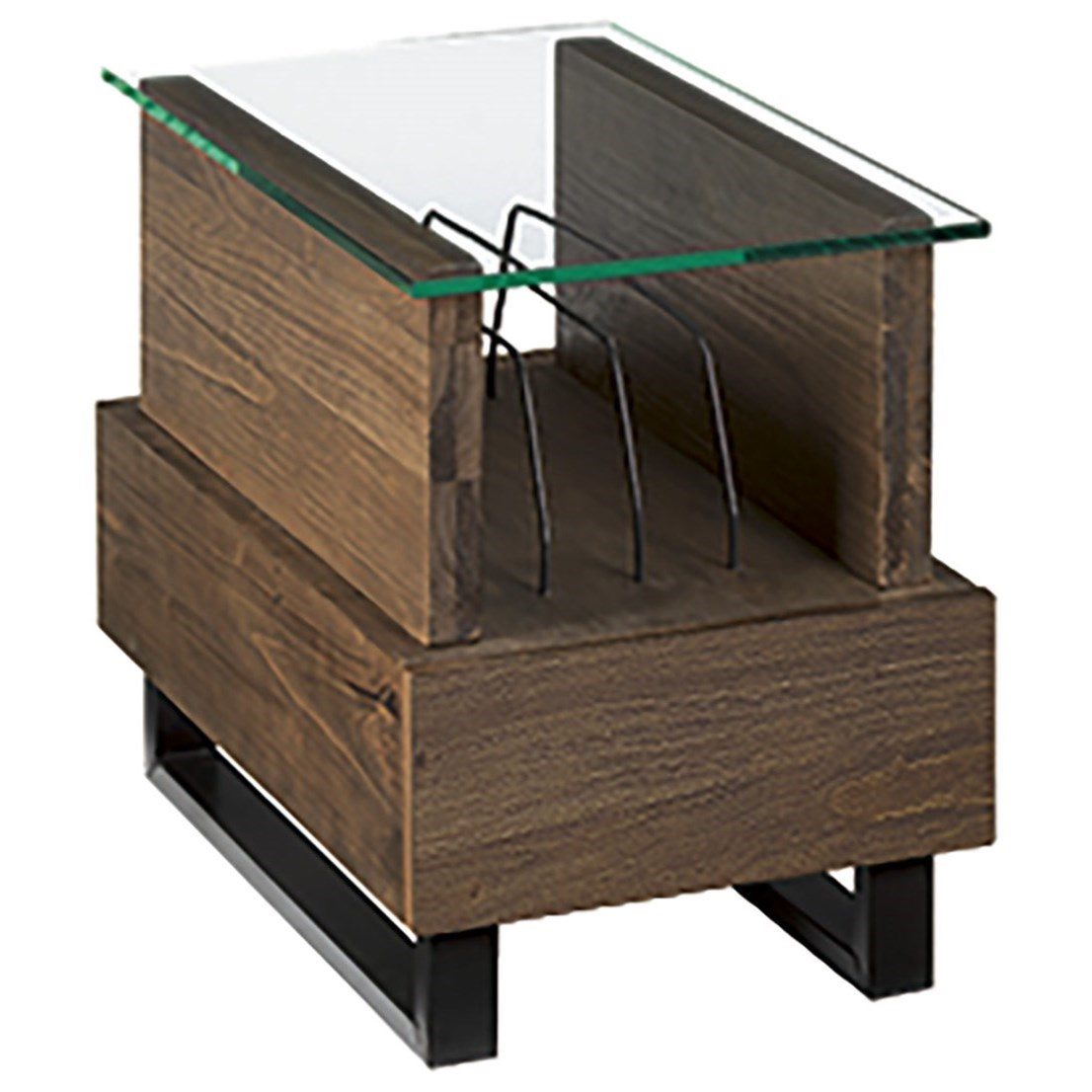 Hammary Fusion Charging Chairside Table - Item Number: 594-916