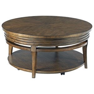 Morris Home Groovy Round Cocktail Table