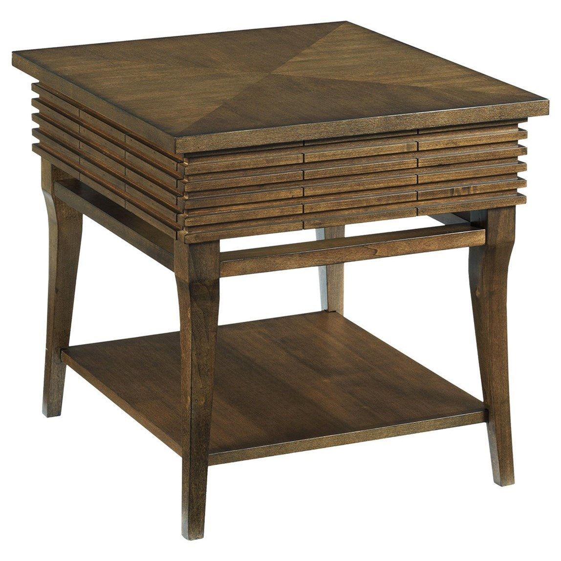 Hammary Groovy Rectangular Drawer End Table - Item Number: 579-915