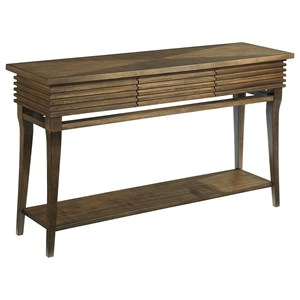 Morris Home Groovy Sofa Table