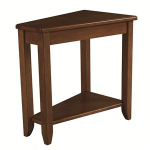 Morris Home Chairsides Oak Chairside Table