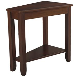 Morris Home Chairsides Cherry Chairside Table