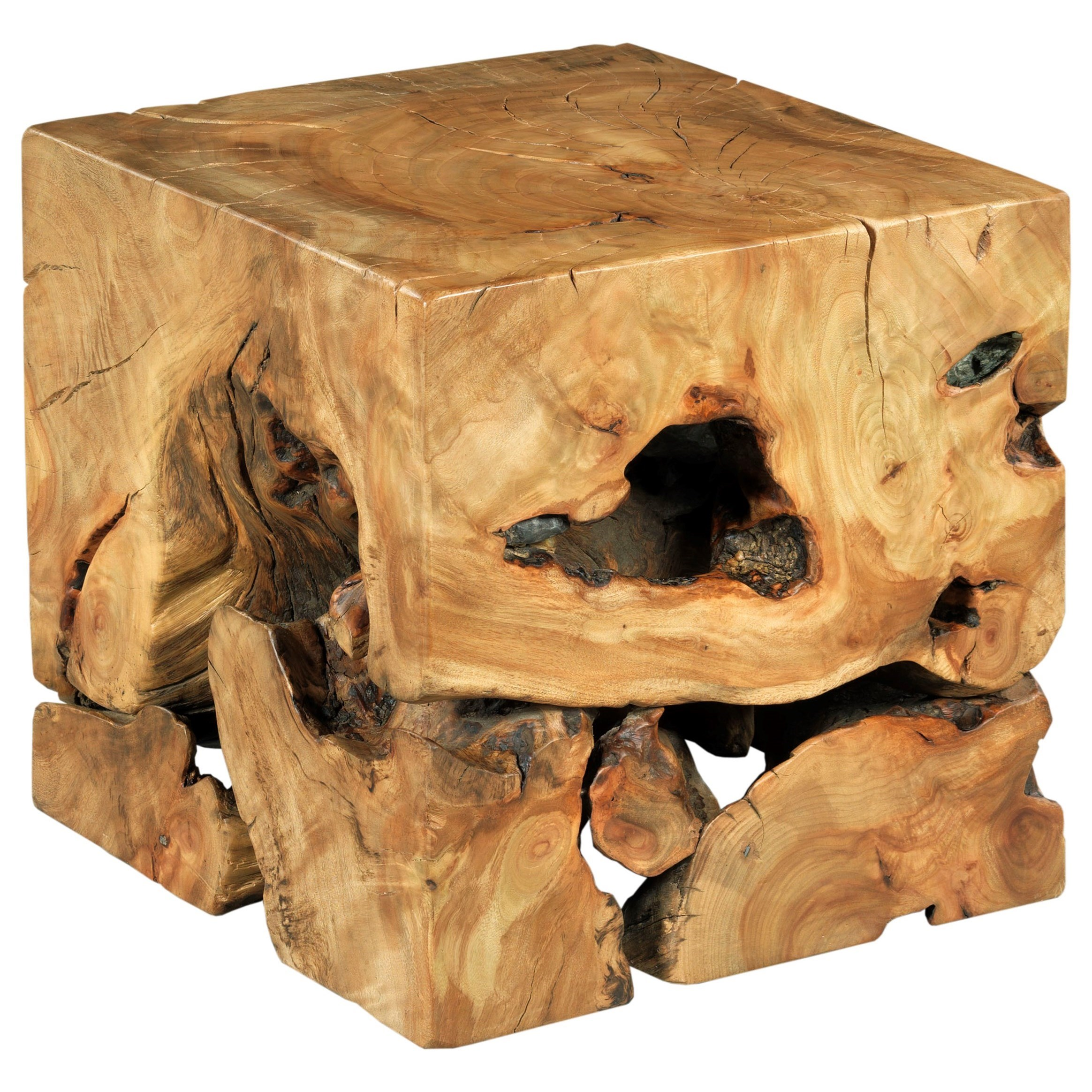 Hidden Treasures End Table by Hammary at Stoney Creek Furniture
