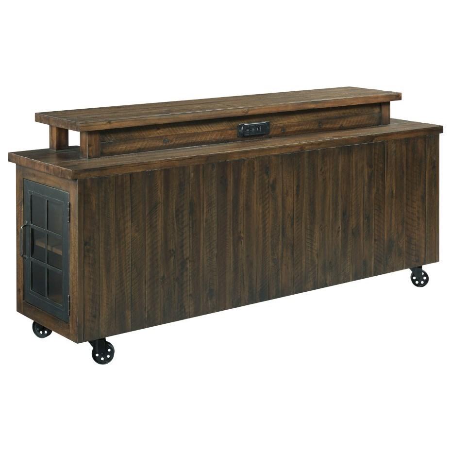 Hidden Treasures Bar Table by Hammary at Stoney Creek Furniture