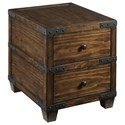 Hammary Hidden Treasures Trunk End Table - Item Number: 090-1036