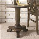 Hammary Hidden Treasures Driftwood Round Pedestal Table - 090-349